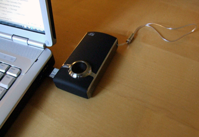 Flip Ultra HD - Plugged into Laptop by USB