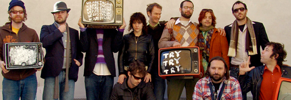 Broken Social Scene, You Forgot It In People, Arts and Crafts, musicians, band photo