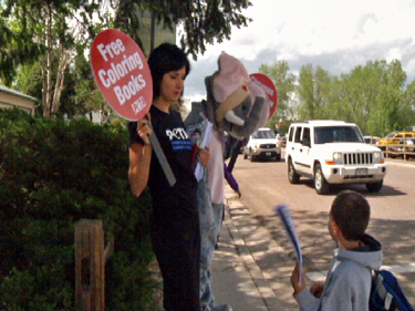 PETA Circus Protest Colorado Springs Cruel Cruelty