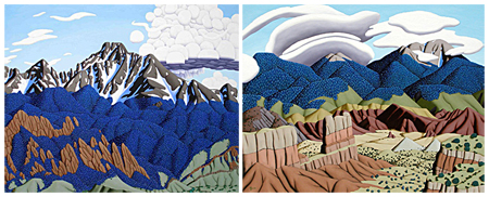 Tracy Felix, painting, oil painting, fine art, Sangres, Sangre de Cristo, mountain range, Longs Peak