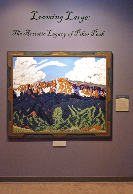 Pikes Peak 2004 by Tracy Felix, Colorado Springs, painting, artist, oil painting
