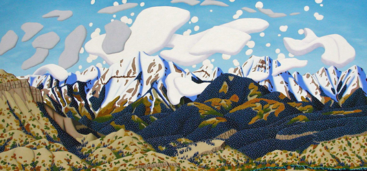 La Platas, La Plata mountains, Colorado, painting, Durango, art, fine art, artist, Tracy Felix, Denver