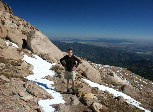 Pikes Peak, Barr Trail, 14er, mountain, summit, hike, peak, Colorado, Colorado Springs, Manitou Springs