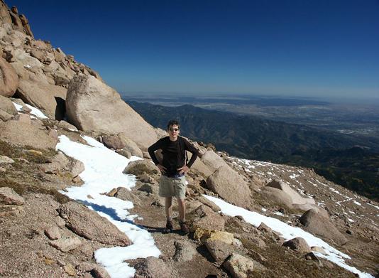 Pikes Peak, Barr Trail, 14er, mountain, summit, hike, peak, Colorado, Colorado Springs, Manitou Springs