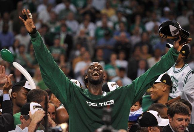 2008 National Basketball Association Boston Celtic Garnett Anything Is Possible