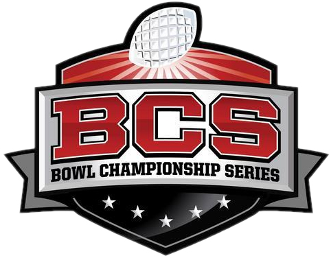 BCS logo, Bowl Championship Series logo, college football, national championship