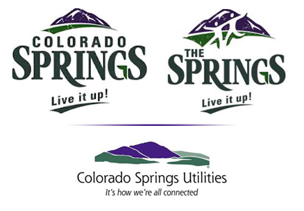 Colorado brand branding campaign new logo The Springs