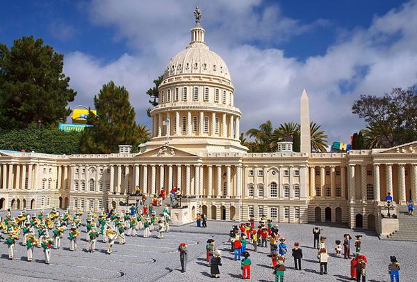 US Capitol, capitol building, capital, Washington DC, Lego, Legoland