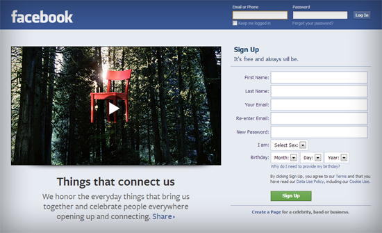 Facebook, chair, chairs, connecting, connect, people, site, home, video, brand, branding