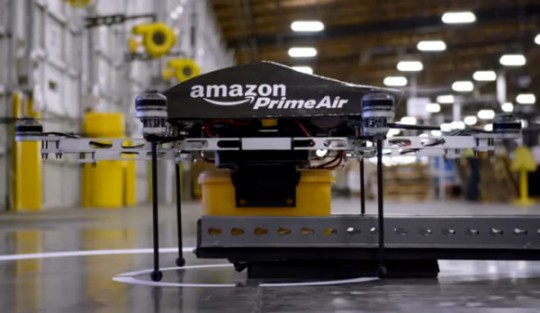 Amazon, Amazon.com, Amazon Prime, Amazon Prime Air, delivery, copter, drone, delivery drone, octocopter