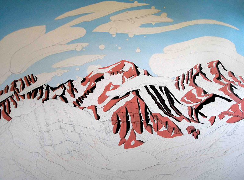 Tracy Felix, art, artist, painting, Colorado, Mount Owen, Megan Lake, Sangre de Cristo, Sangres