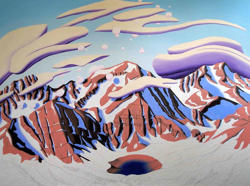 Tracy Felix, art, artist, painting, Colorado, Megan Lake, Sangre de Cristo, Sangres