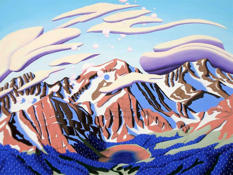 Tracy Felix, art, artist, painting, Colorado, landscape, underpainting, Megan Lake, Mount Owen, Rito Alto Peak, Sangres, Sangre de Cristo, mountains