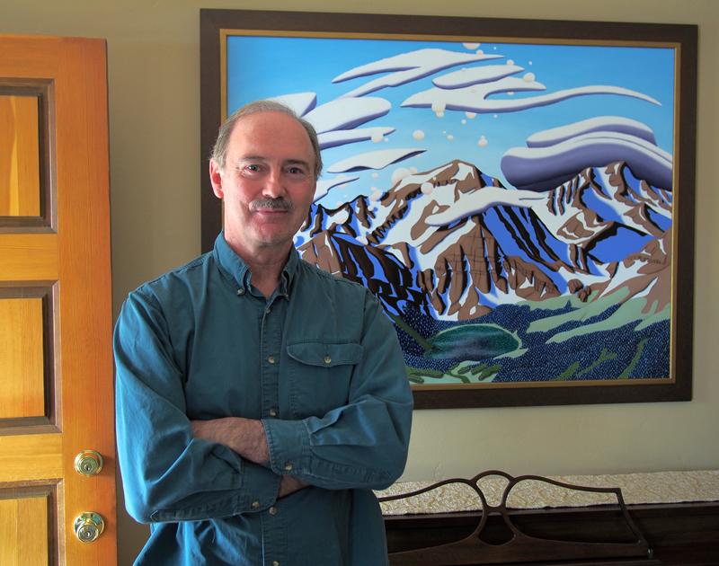 Tracy Felix, art, artist, painting, Colorado, landscape, Sangres, Sangre de Cristo, Mount Owen, Megan Lake, Rito Alto Peak