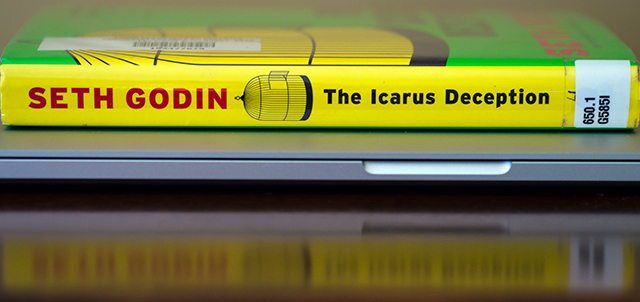 Seth Godin, The Icarus Deception, Icarus, Deception, book, Godin