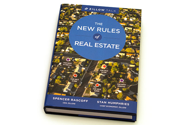Zillow, Zillow Talk, Spencer Rascoff, Stan Humpries, book, book cover, real estate, the new rules of real estate