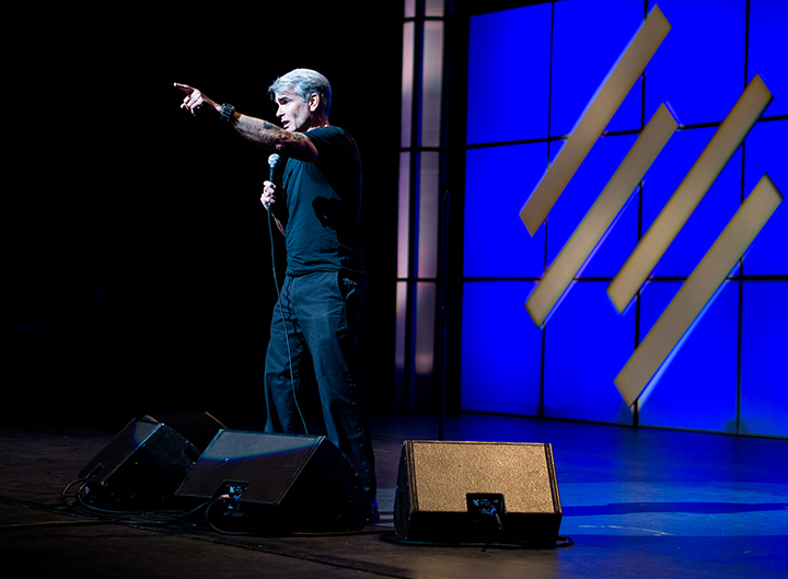 Henry Rollins, Authority Rainmaker, Copyblogger, Denver, integrity, passion, perseverance, stage, Rollins