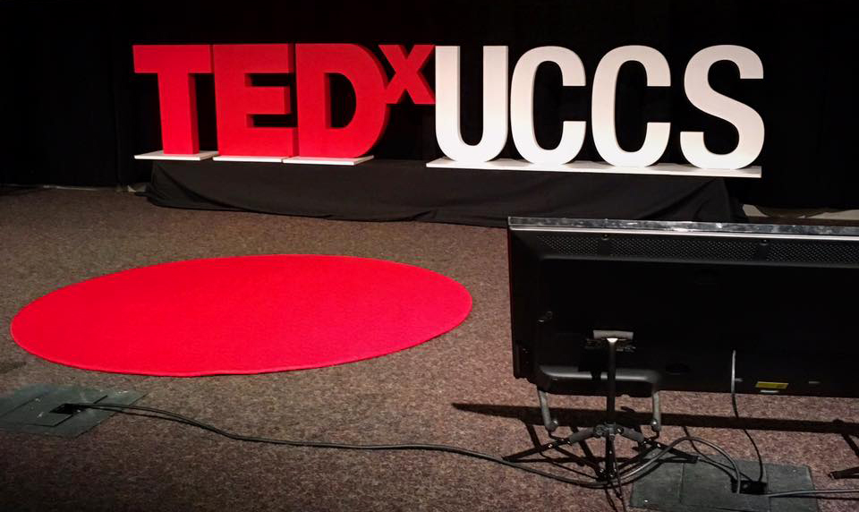 TEDx, TEDx UCCS, UCCS, TEDxUCCS, red carpet, TED stage, TED talk