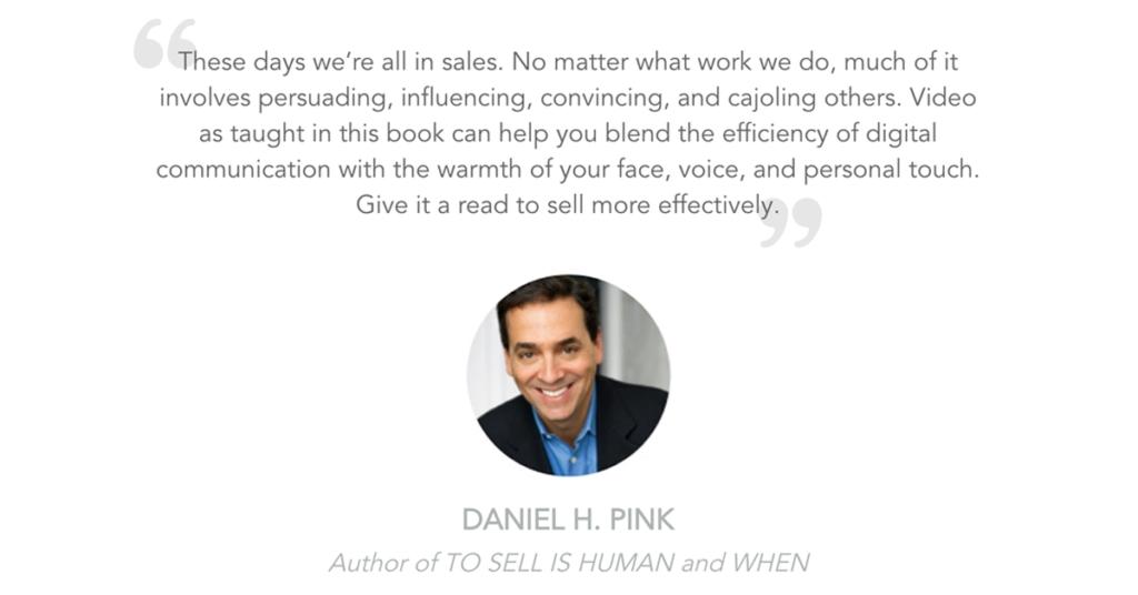 Rehumanize Your Business, Ethan Beute, write a book, Dan Pink, endorsement, Daniel Pink