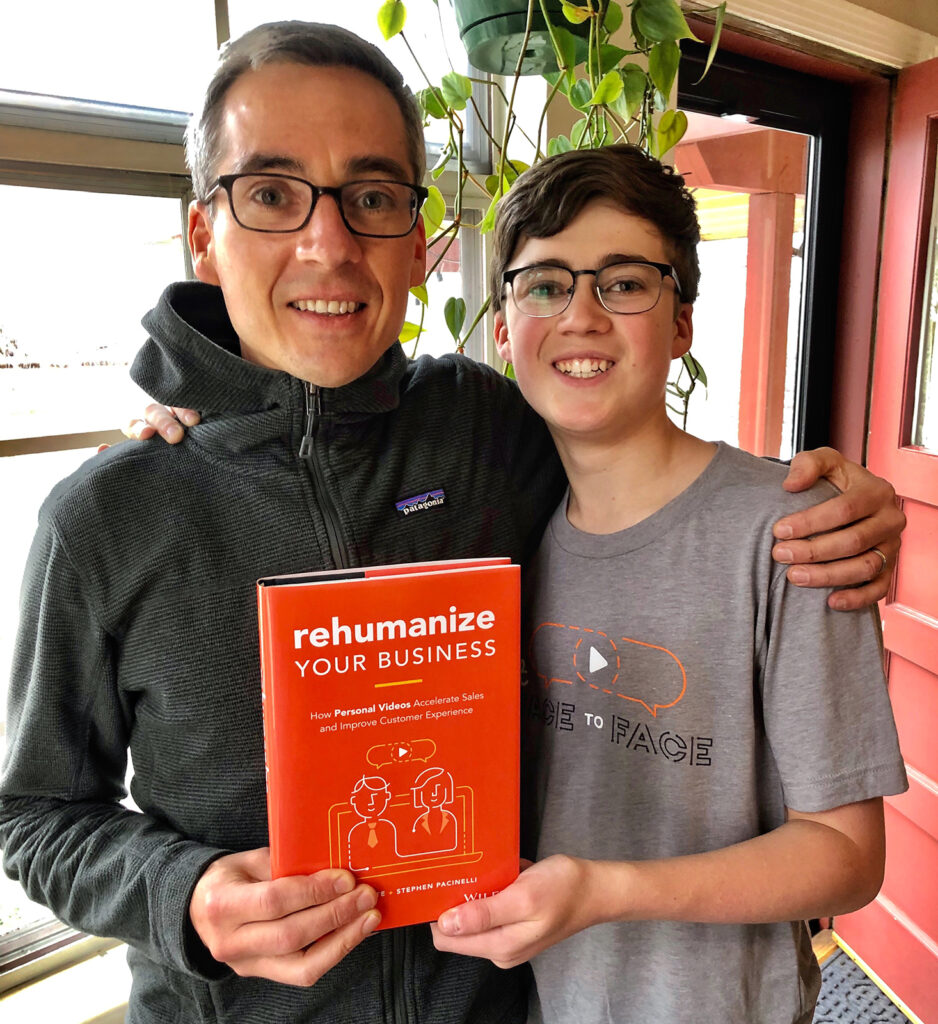 Rehumanize Your Business, Ethan Beute, write a book, publish a book, hardcover book
