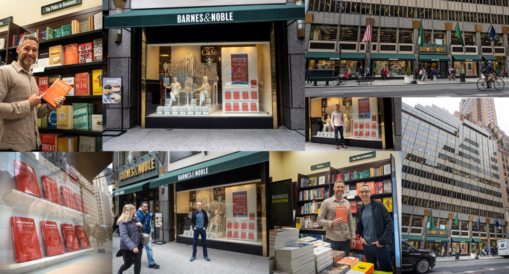 Rehumanize Your Business, Ethan Beute, Steve Pacinelli, write a book, publish a book, Barnes & Noble, NYC, New York City