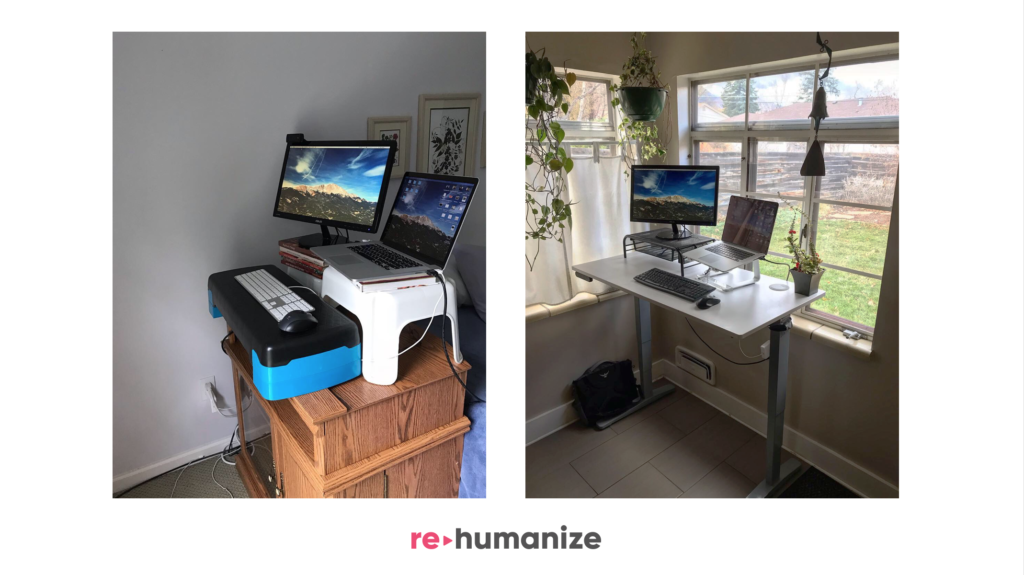 Rehumanize Your Business, Ethan Beute, write a book, publish a book, standing desk, where to write